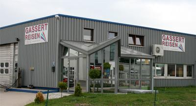 Firmengebäude Gassert Reisen Blieskastel