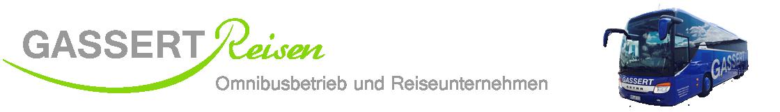 Gassert Reisen Omnibusbetrieb und Reiseunternehmen Blieskastel Logo